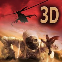 Blackhawk Helicopter Zombie Run 3D - An epic air supremecy apocalypse war