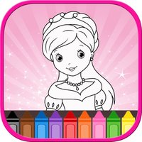 Princess coloring book For Toddler And Kids Free!