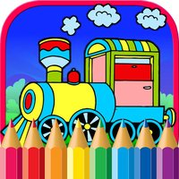 Trains Coloring Pages - Subway Train Games For Kid