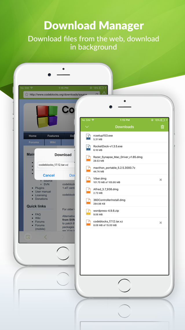 FSharing File Manager Explorer App for iPhone - Free
