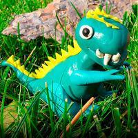 Динозавры - Детская энциклопедия. Раскраски для детей. Звуки животных.