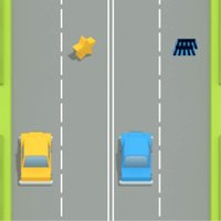 Opening two cars – one cannot hit