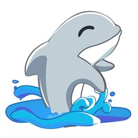 Dolphin - Sticker for iMessage
