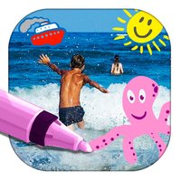 Paint and draw on photos – Photo editor