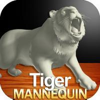 Tiger Mannequin