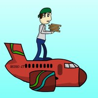 Mr Wing-It! - a mad dash jumping between planes to deliver in-flight fast food to the needy whilst avoiding the birds!