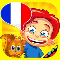 French for kids: play, learn and discover the world - children learn a language through play activities: fun quizzes, flash card games and puzzles