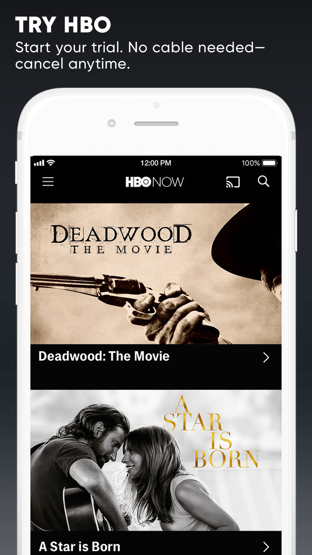 HBO NOW: Stream TV & Movies App for iPhone - Free Download