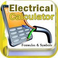 Electrical Calculator with Formulas and Symbols