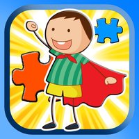 Boys And Girls Cartoon Jigsaw Puzzle Game For Kids