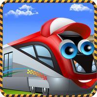 Metro Train Factory Simulator Kids Games