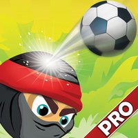 Bobbing Ninja Head Soccer Pro
