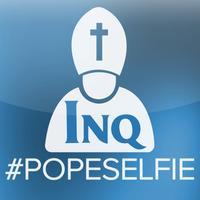 #popeselfie