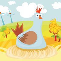 Animal farm game for children age 2-5 for kindergarten