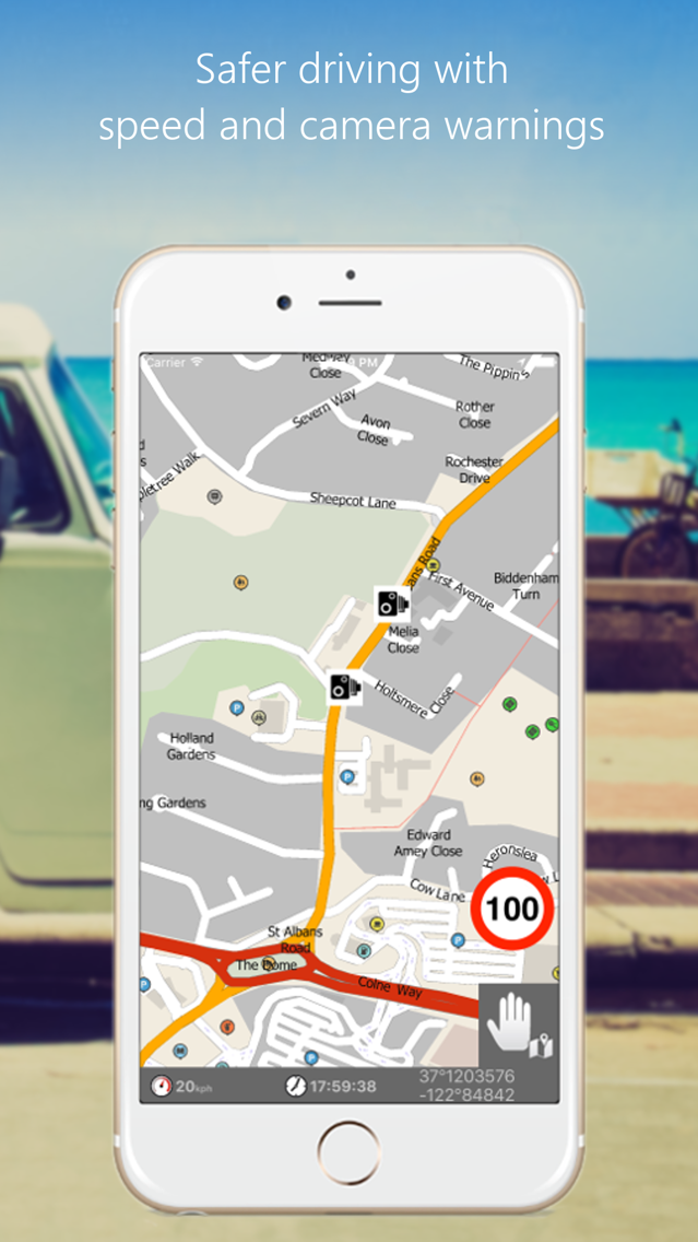 MapFactor GPS Navigation Maps App for iPhone - Free Download