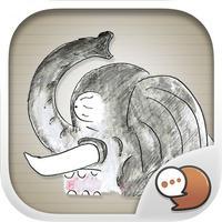 Cartoon Buntorn V.3 Stickers Keyboard By ChatStick