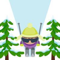 Brave Skier