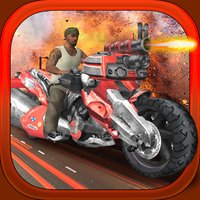 2 Wheel Gunner - Free 3D Ride by Shooting Game