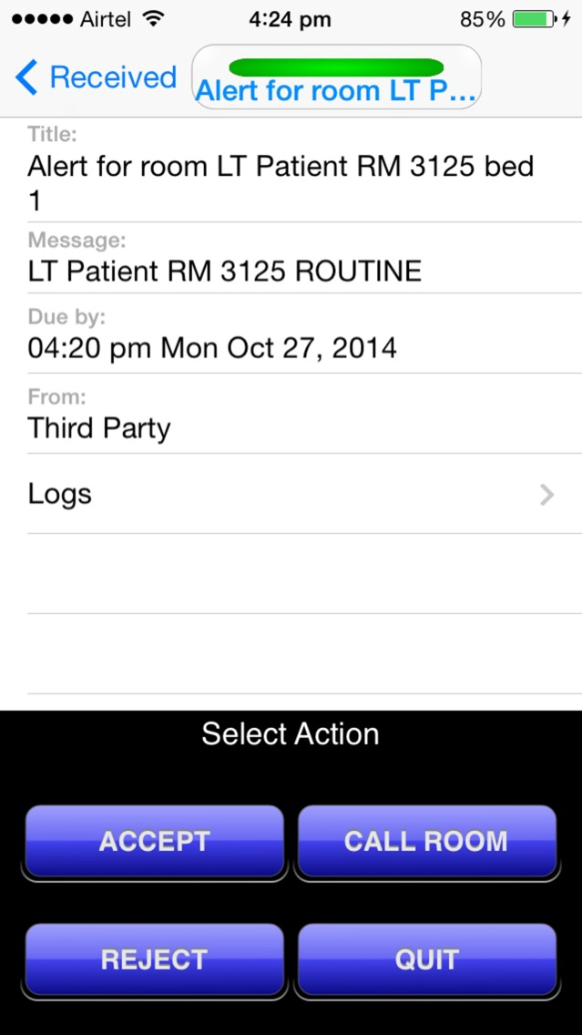 Avaya Mobile Activity Assistant - MAA App for iPhone - Free