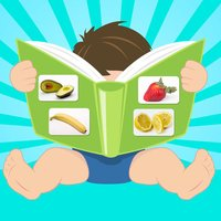Fruits and vegetables flashcards quiz and matching game for toddlers and kids in English