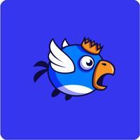 A Flappy Blue Bird MotorCross Bike Wings