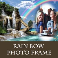 Rain Bow Photo Frame And Pic Collage