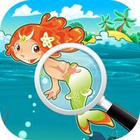 I Spy Hidden Objects Little Mermaids Under the Sea