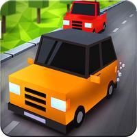 Blocky City Car Racing