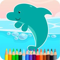 Coloring Dolphin Game