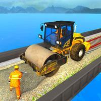 Train Bridge Construction Game