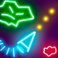 Glow Asteroids Shooter
