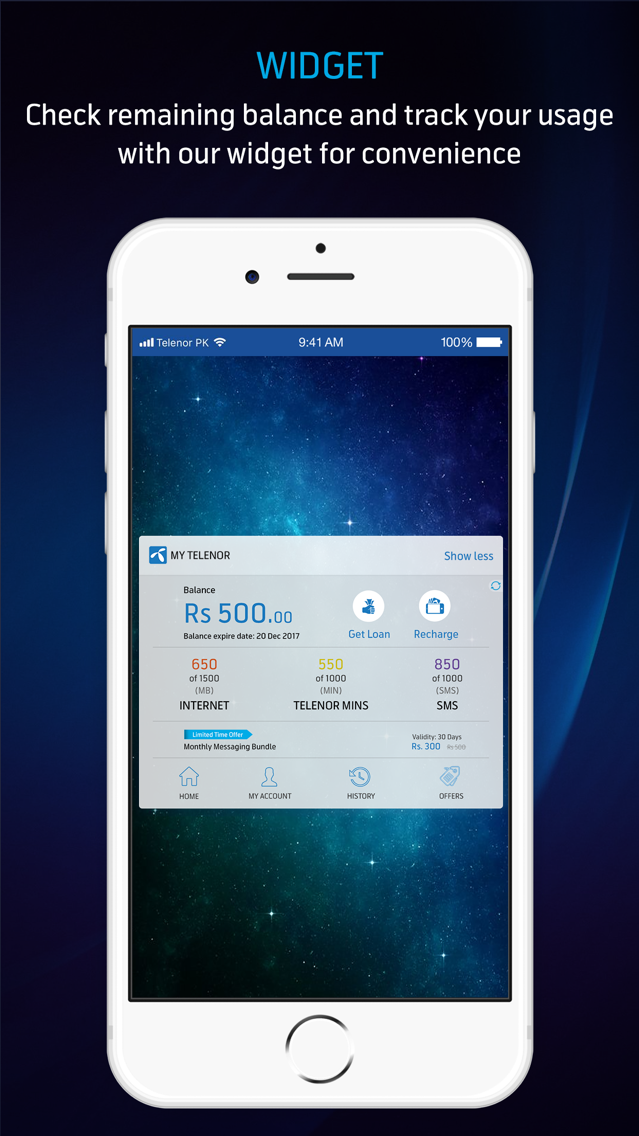 My Telenor App for iPhone - Free Download My Telenor for