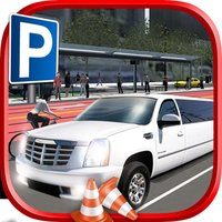 3D Limo Driver Parking Simulator Free Game