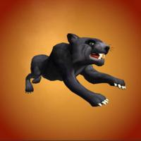 Wild Black Panther Simulator