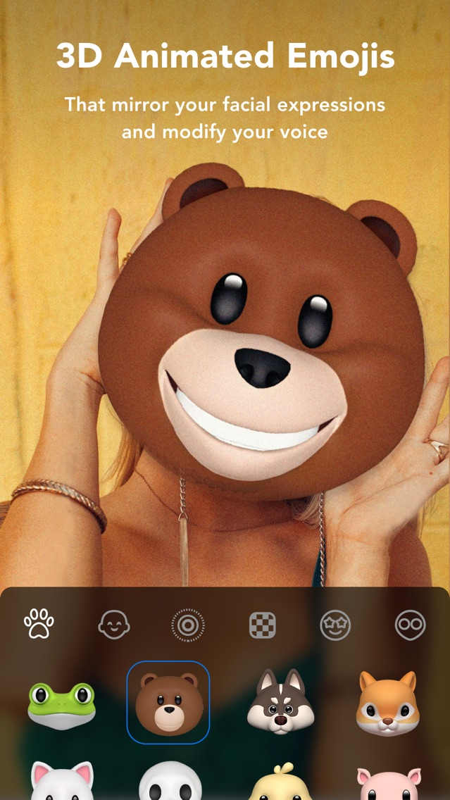 Super Cam | Face Filter Selfie App for iPhone - Free