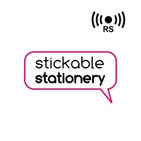 Stickable Stationery