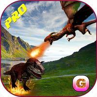 Flying Dragon Warrior Attack Pro – Monster vs Dinosaur Fighting Simulator