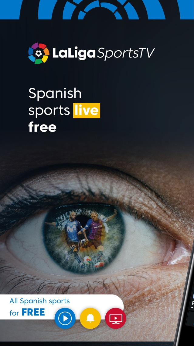 LaLiga Sports TV - Live Soccer App for iPhone - Free