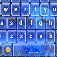 Christmas Keyboard Emoji Holiday Themes Xmas Fonts