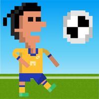 Football Hero Kicker - 8Bit Retro Style Soccer Game