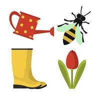 100 Gardening Stickers