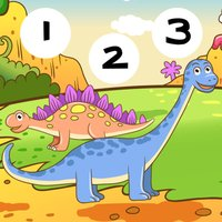 123 Count-ing & Learn-ing Number-s To Ten With Dino-saur. My Kid-s & Baby First Free Education-al Game-s