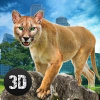 Angry Puma Revenge: City Attack Simulator