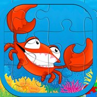 Sea Ocean Animals Jigsaw Puzzle Game For kids