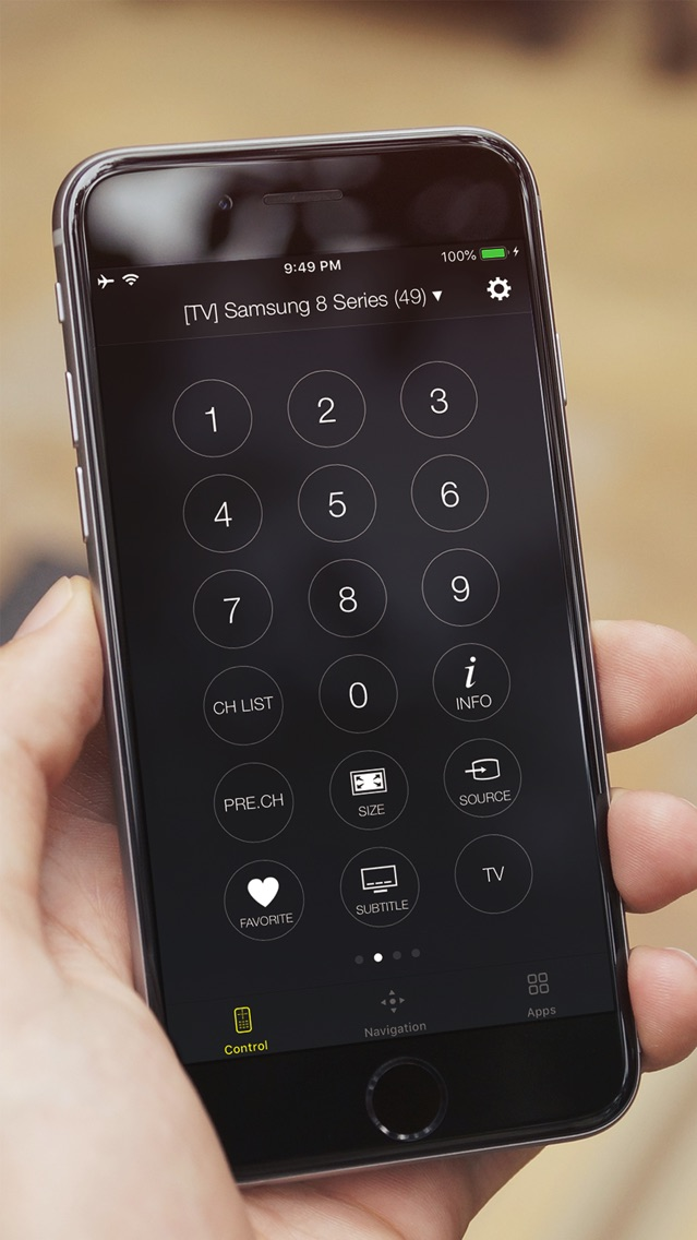 Universal Smart Remote App for iPhone - Free Download