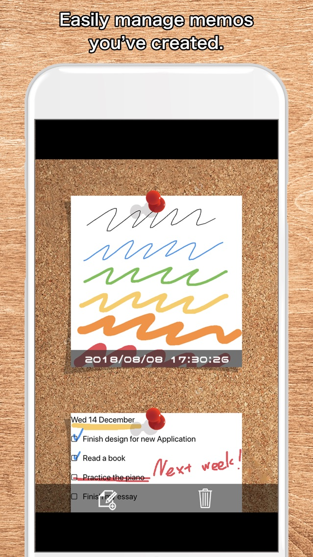 Quick Board - Simple Memo Pad App for iPhone - Free Download