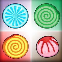 Sweet Candy Match - Lollipops Candies Card Game for Kids, Boys & Girls