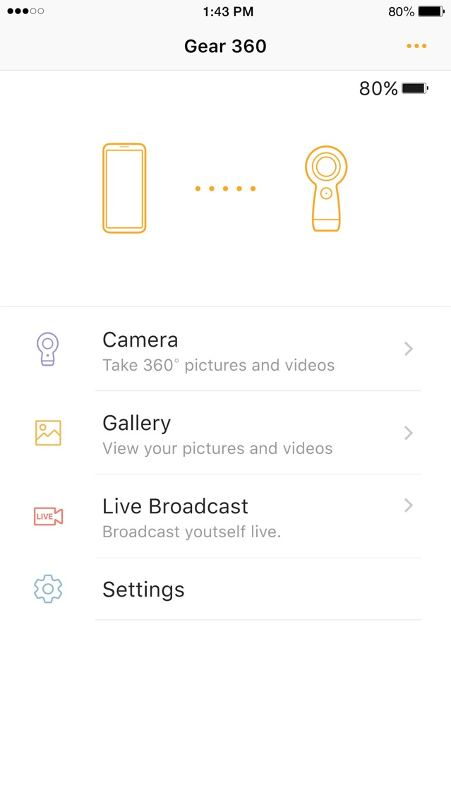 Samsung Gear 360 App for iPhone - Free Download Samsung Gear