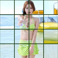 Spin Hot Girl - Solve The Cute Girl