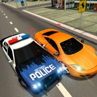 Police Car Chase Driver- Drift